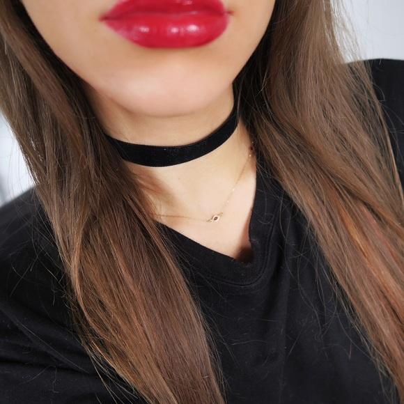 Jewelry - Black Velvet Choker 5/8